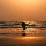 betalbatim india goa beach sunset colva