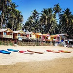@instagram: #palolembeach . . . #palolembeach #palolem #beach #india #indiatrip #indie #asia #asie #goa #sea #chalet #boat #send #ocean #amazingplace #amazing #trio #beautifulday #travel