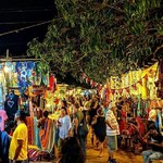 @instagram: #saturdaynightmarket #saturdaynightmarketgoa #nightmarket #weekendvibes #traveljunkie #arpora #goa #goatourism #colourfulindia #incredibleindia #marketplace #picoftheday