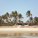 @instagram: My place at Colva Beach???????????? .  #colva #goa #india #hutsonthebeach #huts #bungalow #beach