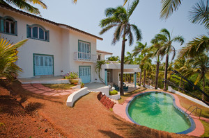 Grand Hill Villa — Luxury villa for rent in Vagator