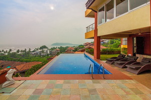 Infinity — Luxury villa for rent in Candolim