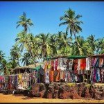 india goa beach market