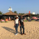 colva india goa beach summer palolem