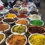 @instagram: #spices #spiceoflife #arpora #saturdaynightmarket #saturday #weekend #weekenddoneright #goa #anjuna #colours #travelotales