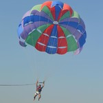 @instagram: #paragliding in #goa #calangute #beach ???? ???? #skydiving #goabeach !