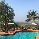 @instagram: Breakfast at Nilaya Hermitage is a peaceful affair... @londonunattached @nilayaheritage #nilayahermitage #luxurytravel #India #Goa #traveljunkie @serenityholi