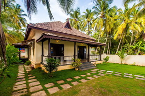 Morjim Beach Villa — House for rent in Morjim