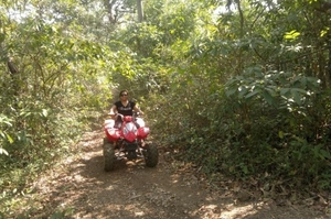 Leisure and quadracycling in South Goa