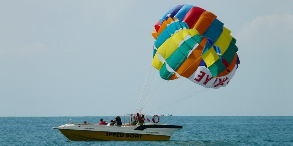 Colva Beach Watersports Parasailing
