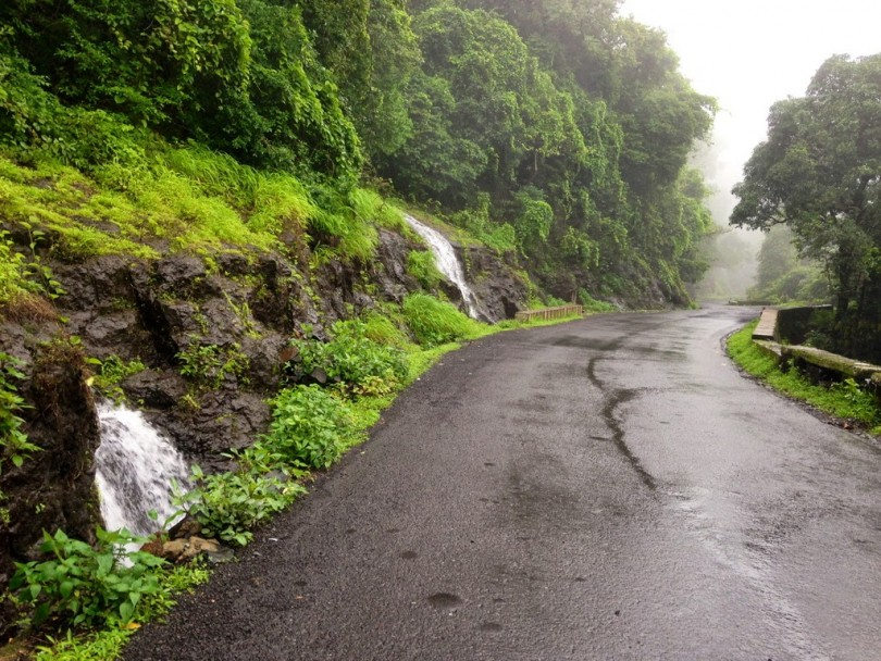 Monsoon Season Roads in Goa